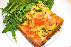 Quiche Recipe Ina Garten Broccoli Zucchini And Red Onion Crustless Quiche Recipe On Food52