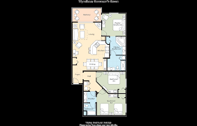 Historic Powhatan Resort Floor Plan by Club Wyndham Wyndham Governors Green