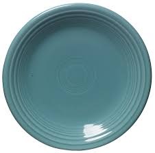 fiestaware egg plate 7 1 4 inch salad plate turquoise fiestaware