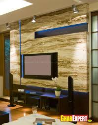 Simple Lcd Wall Unit Designs Stylish Lcd Wall Unit Gharexpert