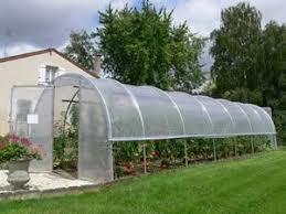 serre tunelle de jardin serre tunnel jardiniere largeur 3 m ref a0833