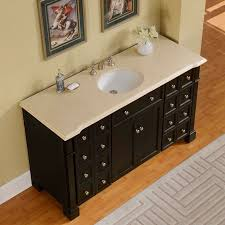 60 inch crema marfil marble stone top bathroom double sink vanity