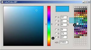 custom windows forms controls colorpicker net