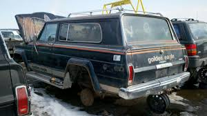 cool jeep cherokee junkyard find 1979 jeep cherokee golden eagle the truth about cars