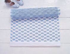 scandinavian baby boy nursery rug ivory blue grey cotton rug