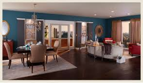 dining room floor plans colorfully behr color for open floor plans