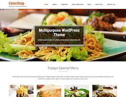 themes wordpress restaurant free 10 best free restaurant wordpress themes 2018 athemes
