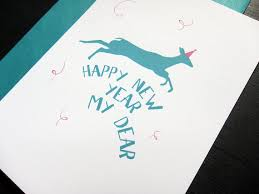 happy new year paper cards 50 creative new year card designs for inspiration jayce o yesta