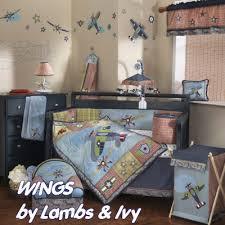Vintage Aviator Crib Bedding Airplane Baby Bedding Modern Vintage Aviator Crib Bedding