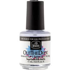 amazon com inm out the door top coat 0 5 ounce beauty