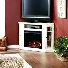 decoration corner electric fireplace tv stand oak awesome wood throughout 3 from corner electric fireplace