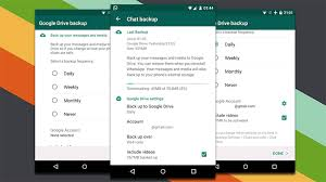 android drive how to transfer whatsapp messages from android to android