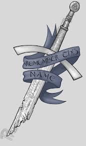 celtic sword tattoo design finished by prettypunkae on deviantart