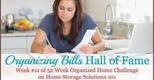Home Storage Solutions 101 Organized Home Organizing Bills Hall Of Fame Ideas U0026 Solutions
