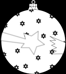 shooting ornament outline clip at clker vector clip