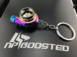 color key rings images Neochrome color spinning racing turbo turbine keychain key chain jpg