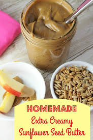homemade sunflower seed butter extra creamy tessa the domestic diva
