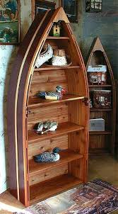 homelegance 3522 12 boat shaped bookcase with light cherry finish