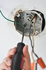Wiring A Ceiling Light Fixture Install Ceiling Light Electrical Box Theteenline Org