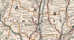 map of northton ma hshire county massachusetts 1901 map cram northton