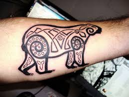 tribal bear tattoo bears pinterest tribal bear tattoo
