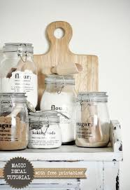 kitchen glass canisters 25 best kitchen jars ideas on pantry storage