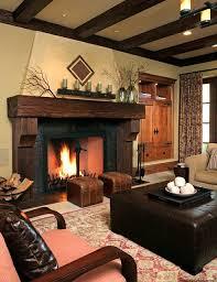 Brown Interior Design Ideas by Stunning Rustic Living Room Design Ideas