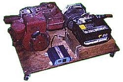 convert a lawn mower into a generator horizontal mount part 1
