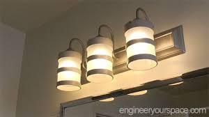 diy bathroom lighting fixture makeover hometalk