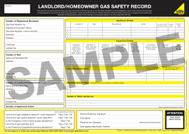 gas safety records what are they gas safe register