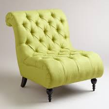 Tufted Arm Chair Design Ideas Brilliant Ideas Of Tufted Slipper Chair Yellow Excellent Furniture