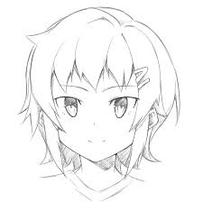 how to draw different angles of face world manga academy