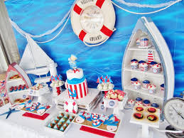 nautical baby shower decorations http www babyshowerideas4u ahoy nautical baby shower baby