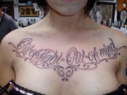 script tattoo fontsteulugar
