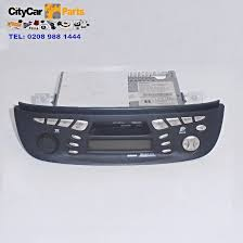 nissan almera body parts nissan almera tino vm10 radio cassette player stereo with code