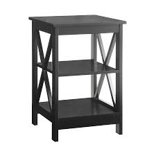 end table black 24 ore international shop end tables at lowes com
