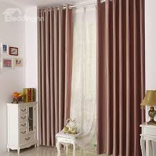 amazing high end red stripes grommet top two panel custom curtains