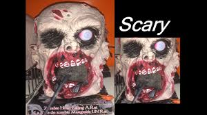 halloween zombie decorations scary halloween props zombie hanging head decorations ideas eating