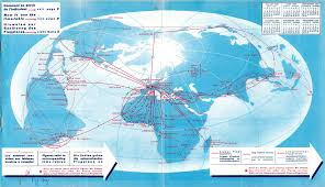 Airline Routes Map by Air France Route Map Recana Masana