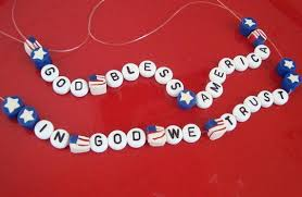 how to make patriotic beads a picture turtorial