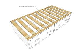 Ana White Daybed With Storage by Ana White Alaska Cabin Daybeds Or Captain Beds With Storage