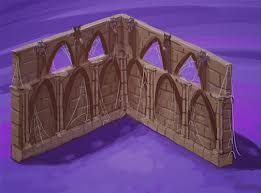 Castle Bookshelf More Haunted Castle Concept Drawings Wkn Webkinz Newz