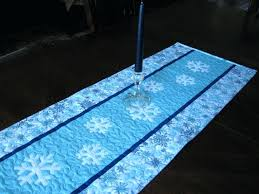 blue and white table runner blue and white table runner uk snowflake red pattern simpsonovi info