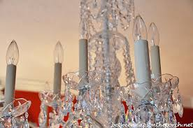 Candle Holder Chandeliers Transform An Ordinary Chandelier With Resin Candle Covers And Silk
