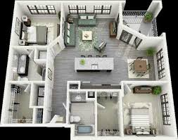 85 best 2 bedroom apartment house plans images on pinterest
