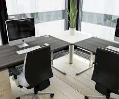 Designer Office Desks Spacious Modern Office Desk Contemporary Design Awesome Homes