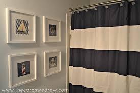 nautical themed bathroom ideas nautical bathroom makeover the cards we drew