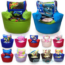 children u0027s character bean bag chairs kids disney boys girls seat