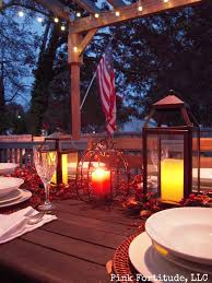 rustic outdoor thanksgiving tablescape pink fortitude llc