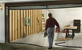 single garage door screen 8ft x 7ft amazon com